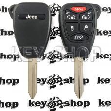 Корпус для автоключа Jeep (Джип) 5+1 кнопки