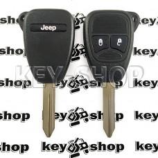 Корпус для автоключа Jeep (Джип) 2 кнопки (тип 2)