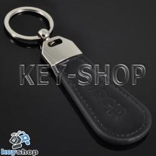 Кожаный брелок для авто ключей Джип (Jeep)