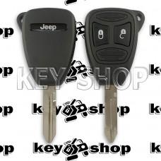 Корпус автоключа для Jeep (Джип) 2 кнопки