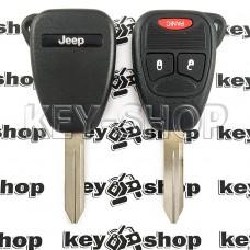 Корпус автоключа для Jeep (Джип) 2 кнопки +1 (panic)