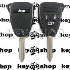 Корпус автоключа для Jeep (Джип) 3 кнопки