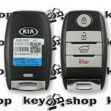 Cмарт ключ для KIA Soul EV (Киа Соул ЕВ), 2015-2016, 3 + 1 кнопки, H chip (A8), 95440-E4000, 433 Mhz