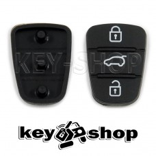 Резиновые кнопки для выкидного ключа KIA (КИА) 3 кнопки