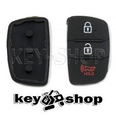 Резиновые кнопки для выкидного ключа KIA (КИА) 2 + 1 кнопки (Panic)