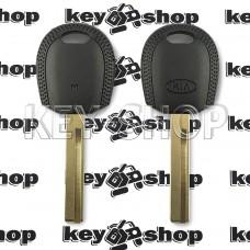 Корпус авто ключа под чип для KIA (КИА) левый пропил