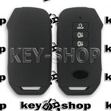Чехол (черный, силиконовый) смарт ключа KIA (КИА)