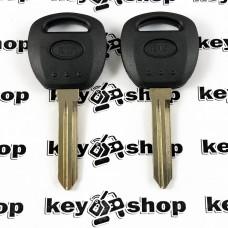 Корпус авто ключа под чип для KIA (КИА) левый без упоров