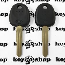 Корпус авто ключа под чип для KIA (КИА), лезвие правое с упором