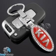 Металлический брелок авто ключей KIA (КИА)