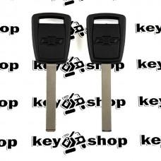 Корпус авто ключа под чип для Chevrolet (Шевролет), лезвие HU100