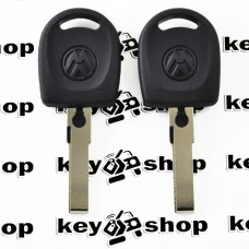 Корпус авто ключа под чип для VOLKSWAGEN (фольксваген), лезвие HU66