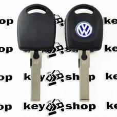 Корпус авто ключа под чип для VOLKSWAGEN (фольксваген) с подсветкой , лезвие HU66