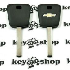 Корпус авто ключа под чип для CHEVROLET (Шевролет) лезвие HU100