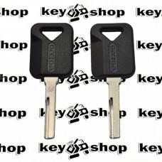 Корпус авто ключа для Volvo (Вольво) с лезвием HU56R, без места под чип