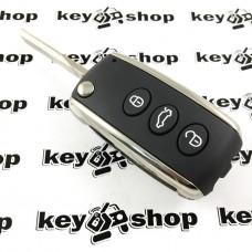 Оригинальный корпус выкидного автоключа Bentley (Бентли) 3 кнопки
