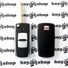 Корпус выкидного автоключа Seat (Сеат) под переделку - 2 кнопки, лезвие HU66