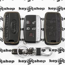 Чехол (кожаный) для авто ключа LAND ROVER (Ленд Ровер) 5 кнопок