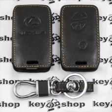Чехол (кожаный) для авто ключа LEXUS (Лексус) 3 кнопки
