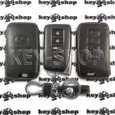 Чехол (кожанный) смарт ключа LEXUS (Лексус) 4 кнопки