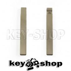Лезвие для выкидного ключа Chevrolet (Шевроле) HU100 (тип1)