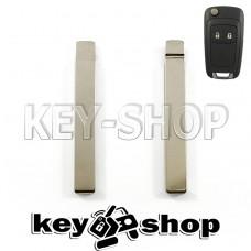 Лезвие для выкидного ключа Chevrolet (Шевроле) HU100 (тип2)