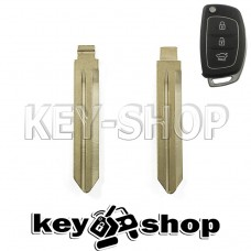 Лезвие для выкидного ключа Hyundai (Хюндай) (левое без упора)