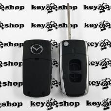 Корпус выкидного автоключа Mazda (Мазда) 2 кнопки (Тип 2)