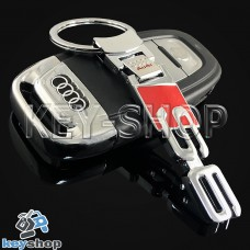 Металлический брелок для авто ключей Audi S 6 (Ауди C 6)