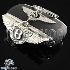 Металлический брелок для авто ключей Bentley (Бентли)