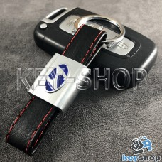 Кожаный брелок для авто ключей Хундай (Hyundai)