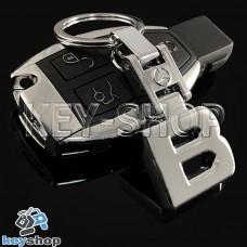 Металлический брелок для авто ключей Mercedes B (Мерседес Б)
