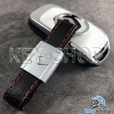 Кожаный брелок для авто ключей Renault (Рено)