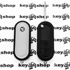 Корпус выкидного ключа для MG, 2 кнопки