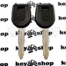 Корпус ключа под чип MITSUBISHI Lancer, ASX, Outlander XL (Митсубиси Ланцер, Аутлендер), лезвие MIT11R