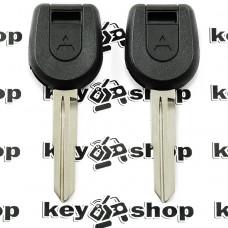 Корпус ключа под чип MITSUBISHI L200, Pajero, Grandis(Митсубиси, Паджеро, Грандис), лезвие MIT8