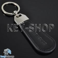Кожаный брелок для авто ключей Mitsubishi (Митсубиси)