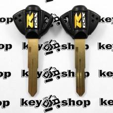 Ключ (черный) для мотоцикла Suzuki GSX R, 2006г+ (Сузуки), лезвие SZ17R