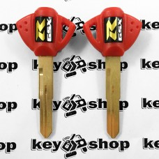 Ключ (красный) для мотоцикла Suzuki GSX R, 2006г+ (Сузуки), лезвие SZ17R