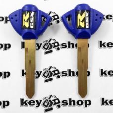 Ключ (синий) для мотоцикла Suzuki GSX R, 2006г+ (Сузуки), лезвие SZ17R