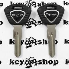 Ключ для мотоцикла Triumph (Триумф), лезвие правоес упорами