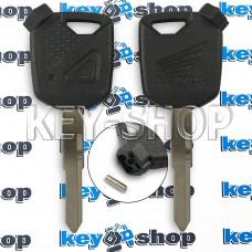 Ключ для мотоцикла Honda (Хонда), с магнитами, лезвие левое