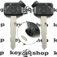 Ключ с магнитами для мотоцикла Yamaha (Ямаха) лезвие левое с упороми