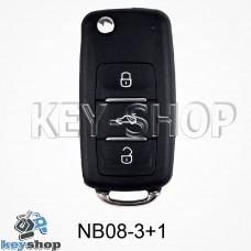 Ключ заготовка (nb08 - 3 + 1) для программатора KD900, KD900+, KD mini