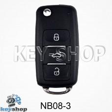 Ключ заготовка (NB08 - 3) для программатора KD900, KD900+, KD mini