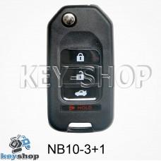 Ключ заготовка (NB10 - 3 + 1) для программатора KD900, KD900+, KD mini