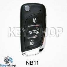 Ключ заготовка (NB11) для программатора KD900, KD900+, KD mini