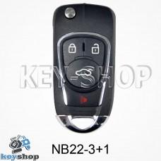 Ключ заготовка (NB22 - 3 + 1) для программатора KD900, KD900+, KD mini