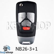 Ключ заготовка (NB26 - 3+1) для программатора KD900, KD900+, KD mini