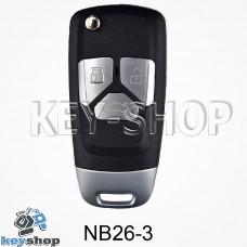 Ключ заготовка (NB26 - 3) для программатора KD900, KD900+, KD mini